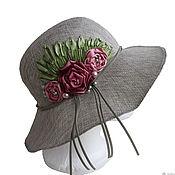 Аксессуары handmade. Livemaster - original item Women`s summer hat fragrance of ROSES. Handmade.
