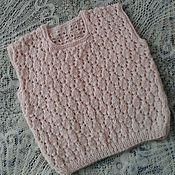 Vests handmade. Livemaster - original item Knitted waistcoat