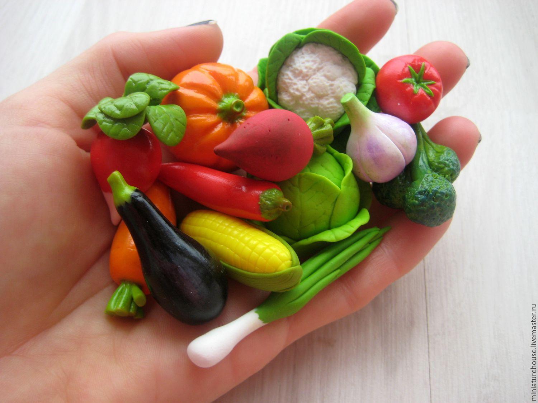 Из чего сделать овощи и фрукты своими руками из 70