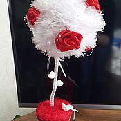 Подарки к праздникам ручной работы. Ярмарка Мастеров - ручная работа Цветочный топиарий. Handmade.