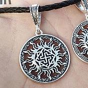 Украшения handmade. Livemaster - original item Amulet of the Valkyrie in the Sun. Silver 925 art.1010104. Handmade.