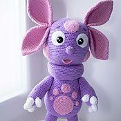 Мягкие игрушки ручной работы. Ярмарка Мастеров - ручная работа Мягкие игрушки: Игрушка вязаная. Handmade.
