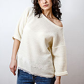 Одежда handmade. Livemaster - original item Women`s jacket with lace