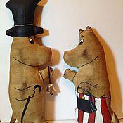 """Куклы и игрушки ручной работы. Ярмарка Мастеров - ручная работа Ароматные игрушки """"Муми-мама"""" и  """"Муми-папа"""". Handmade."""