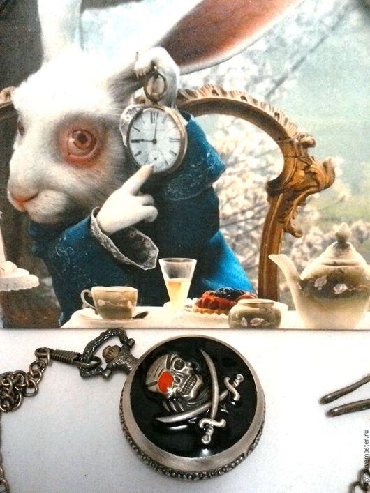 """Часы ручной работы. Ярмарка Мастеров - ручная работа. Купить Часы карманные """"Пираты Карибского моря"""". Handmade. Часы"""