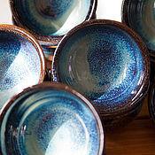 Посуда ручной работы. Ярмарка Мастеров - ручная работа В наличии: Пиалы - космические 2. Handmade.