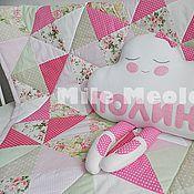 Для дома и интерьера handmade. Livemaster - original item Baby blanket, bedspread. Handmade.