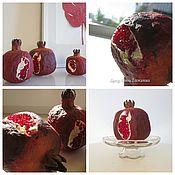 Для дома и интерьера ручной работы. Ярмарка Мастеров - ручная работа гранат из ваты. Handmade.
