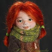 Куклы и игрушки ручной работы. Ярмарка Мастеров - ручная работа Александра. Авторская войлочная кукла. Handmade.