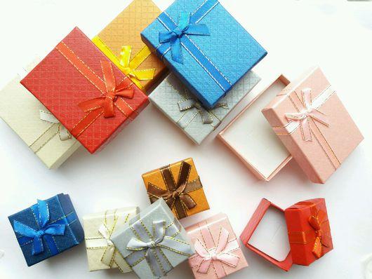 Упаковка ручной работы. Ярмарка Мастеров - ручная работа. Купить Подарочная коробка для украшений. Handmade. Подарок, упаковка для браслета, картон