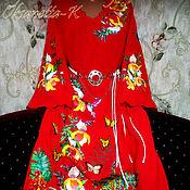 Одежда handmade. Livemaster - original item Dress embroidered