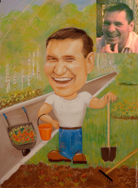 шарж по фото на заказ москва недорого вечнозеленый пышный