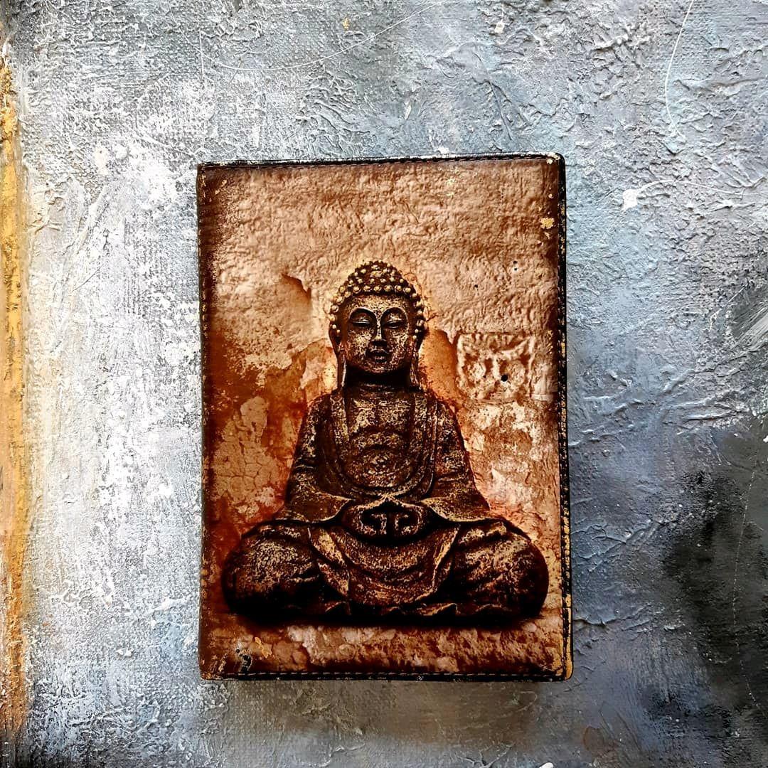 Бумажник водителя с отделением для паспорта ОМ подарок мужчине Йога, Спортивная сумка, Санкт-Петербург,  Фото №1