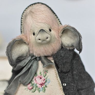 Куклы и игрушки ручной работы. Ярмарка Мастеров - ручная работа Игрушки: Мюзетта. Handmade.