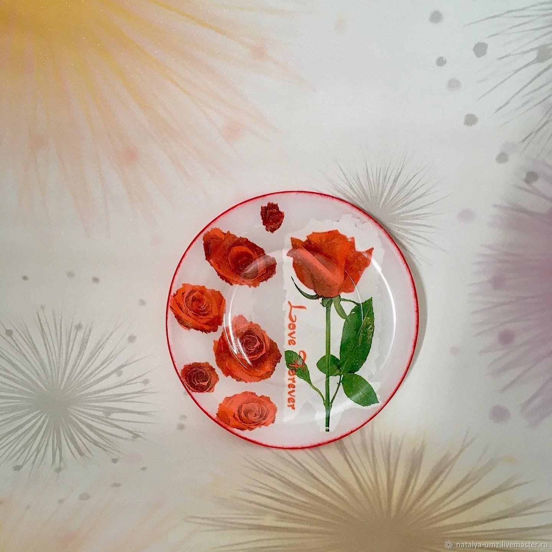 "Тарелка-панно ""Цветы"", Тарелки, Санкт-Петербург,  Фото №1"