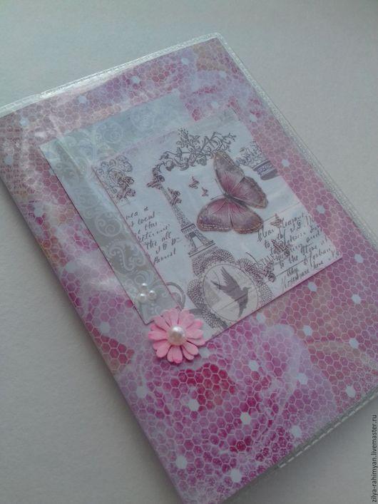 Обложки ручной работы. Ярмарка Мастеров - ручная работа. Купить Обложки для паспорта. Handmade. Розовый, голубой, красный, тиффани, серый