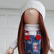 Куклы и игрушки ручной работы. Ярмарка Мастеров - ручная работа Кристина. Текстильная куколка.. Handmade.