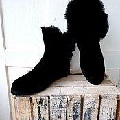 Обувь ручной работы handmade. Livemaster - original item Ugg boots short. Handmade.