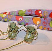 Куклы и игрушки ручной работы. Ярмарка Мастеров - ручная работа Ботиночки для блайз куклы. Handmade.