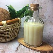 Косметика ручной работы. Ярмарка Мастеров - ручная работа Кокосовое молочко гидрофильное для снятия макияжа. Handmade.
