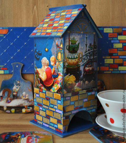 Чайный домик `Волшебные истории` по мотивам произведений художника Виктора Низовцева. Все изображения использованы с согласия художника.