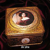 Для дома и интерьера handmade. Livemaster - original item Box the captivating Star of happiness. Handmade.