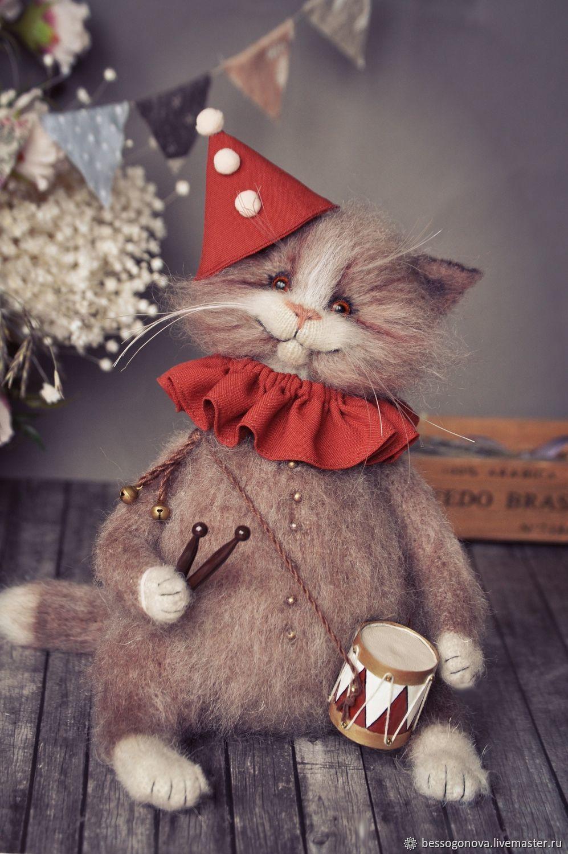 БОМ Коллекционная игрушка кот, Тедди Зверята, Северодвинск,  Фото №1