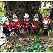 Куклы и игрушки ручной работы. Ярмарка Мастеров - ручная работа Новогодние зайцы (интерьерная игрушка). Handmade.