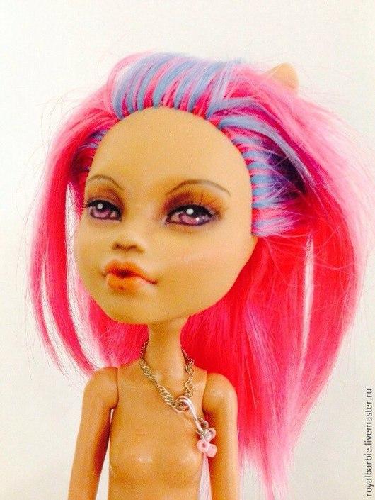 Коллекционные куклы ручной работы. Ярмарка Мастеров - ручная работа. Купить Monster High OOAK. Handmade. Фуксия, monster high