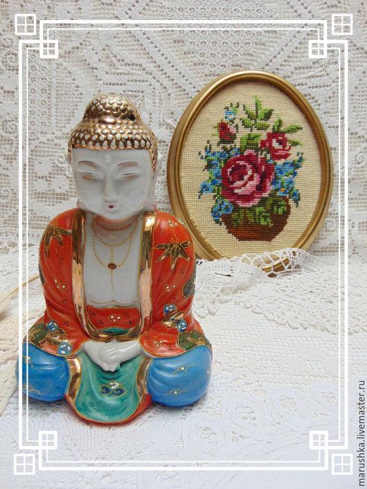 Винтажные предметы интерьера. Ярмарка Мастеров - ручная работа. Купить Светильник  Будда, с  ароматизатором,винтаж, Япония. Handmade. Комбинированный, благовония