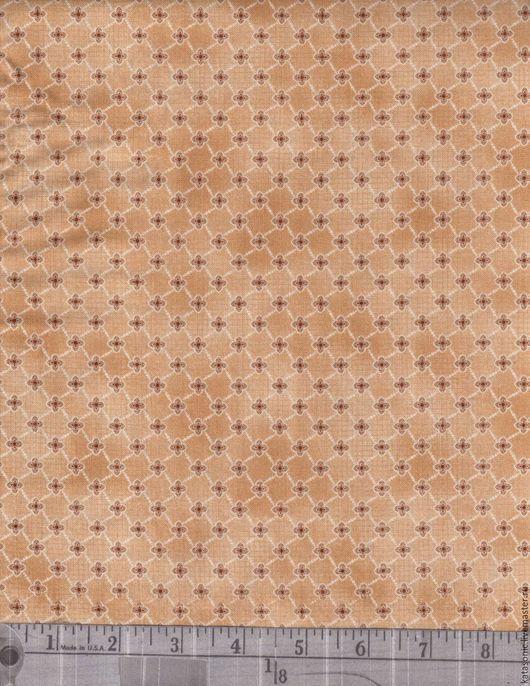 Шитье ручной работы. Ярмарка Мастеров - ручная работа. Купить 1169 Американская ткань. Handmade. Бежевый, ткань с рисунком, ткань
