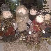 Куклы и игрушки ручной работы. Ярмарка Мастеров - ручная работа баба яга леший. Handmade.