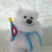 Куклы и игрушки ручной работы. Ярмарка Мастеров - ручная работа мишка Полюс. Handmade.