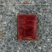 Сумки и аксессуары handmade. Livemaster - original item Leather wallet MINI. Handmade.