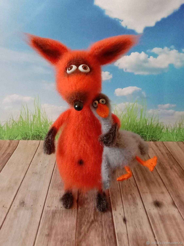 The Fox and goose, Stuffed Toys, Ufa,  Фото №1
