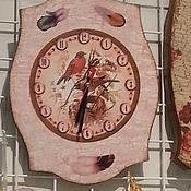 Для дома и интерьера handmade. Livemaster - original item Watch Snegiri. Handmade.