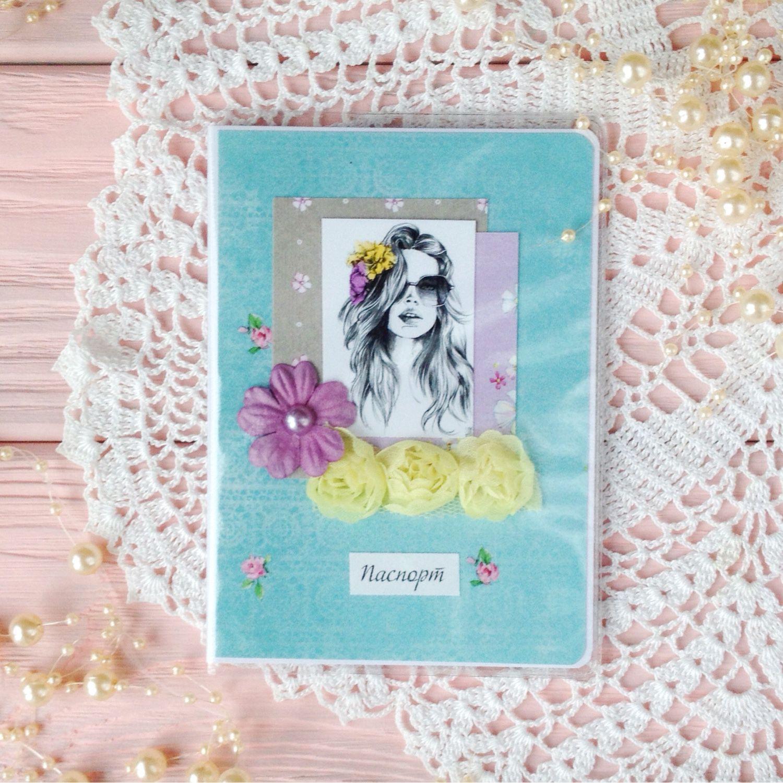 Обложка на паспорт для девушек фото