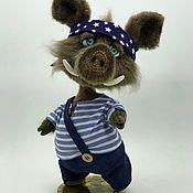 Куклы и игрушки handmade. Livemaster - original item Sailor Oink. Handmade.