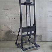 Для дома и интерьера ручной работы. Ярмарка Мастеров - ручная работа Мольберт для ТВ в стиле лофт. Handmade.