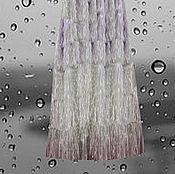 """Одежда ручной работы. Ярмарка Мастеров - ручная работа Вечерняя юбка с бахромой """"Бриллиантовый ливень"""". Handmade."""