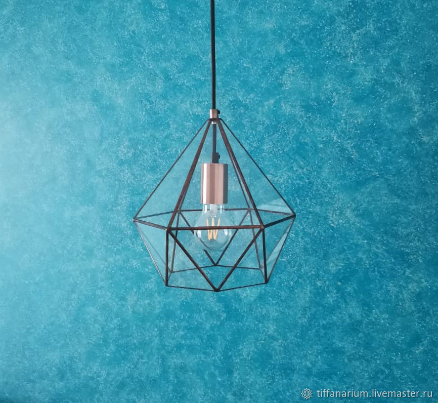 Lamp loft Andromeda copper, small, Ceiling and pendant lights, Magnitogorsk,  Фото №1