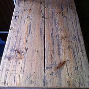Столы ручной работы. Ярмарка Мастеров - ручная работа Столешница из старой амбарной доски. Handmade.