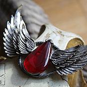 """Колье ручной работы. Ярмарка Мастеров - ручная работа Колье """"Кровавый Ангел"""". Handmade."""