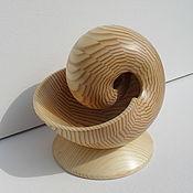 Скульптуры ручной работы. Ярмарка Мастеров - ручная работа Скульптура из дерева Наутилус - 2ММ. Handmade.