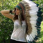 Одежда handmade. Livemaster - original item Indian headdress -  Depths of a Forest. Handmade.