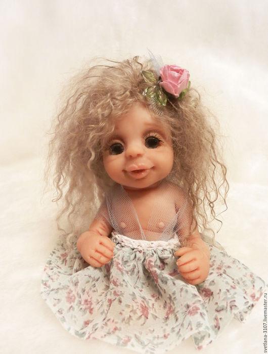 Куклы-младенцы и reborn ручной работы. Ярмарка Мастеров - ручная работа. Купить Малышка феечка. Handmade. Комбинированный, авторская игрушка