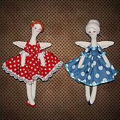 Куклы и игрушки ручной работы. Ярмарка Мастеров - ручная работа Ягодные феечки. Текстильные куклы.. Handmade.