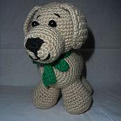 Куклы и игрушки ручной работы. Ярмарка Мастеров - ручная работа собачка Бунтик. Handmade.