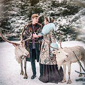 Одежда ручной работы. Ярмарка Мастеров - ручная работа Зимнее пальто из гобелена. Handmade.
