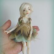 Куклы и игрушки ручной работы. Ярмарка Мастеров - ручная работа Шарнирная кукла Лесная эльфочка. Handmade.
